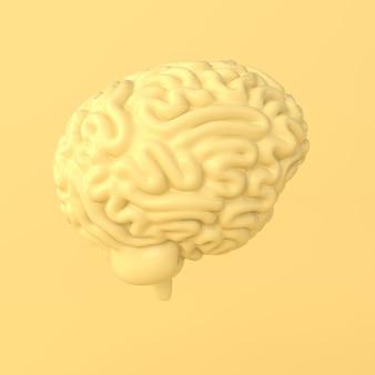Rendering del cervello