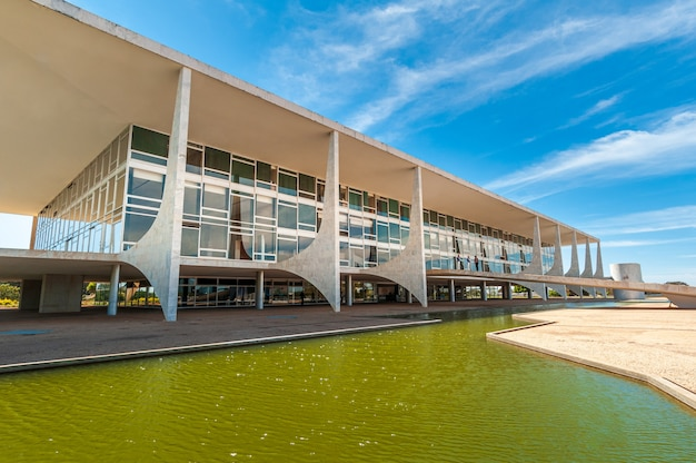 Brasilia df brasile il 14 agosto 2008 palacio do planalto il posto di lavoro dei presidenti