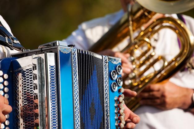 Brass band in baviera