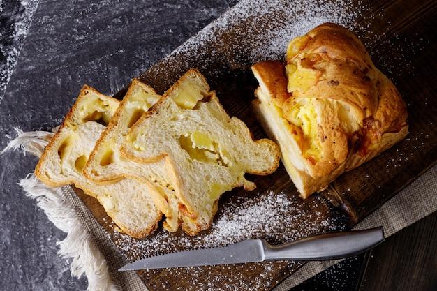Pane in una caffetteria