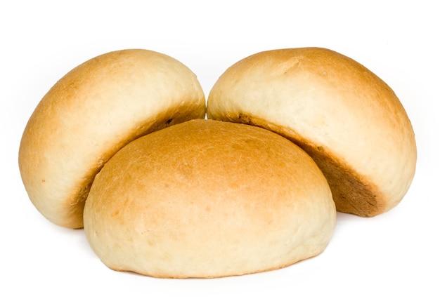 Pane isolato sul bianco