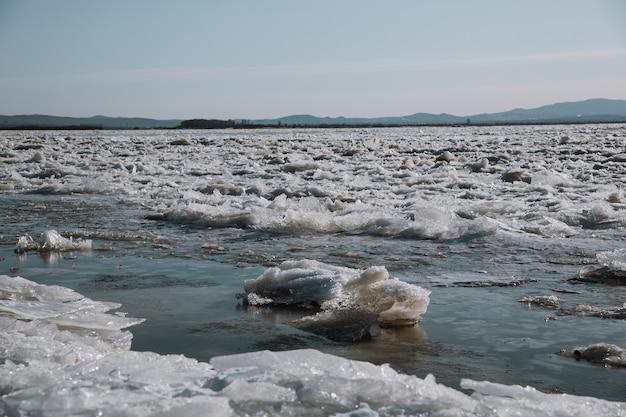 La rottura russia fiume amur