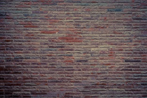 Muro di blocchi di mattoni