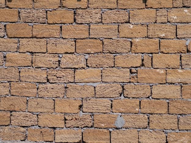 Muro di mattoni come sfondo. modello di muro di mattoni.