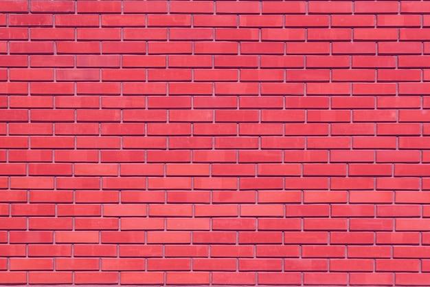 Fondo del muro di mattoni, modello, mattoni rossi all'esterno.