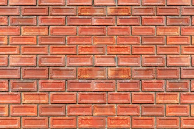 Muro di mattoni pattern, vintage vecchio muro di mattoni texture di sfondo grunge
