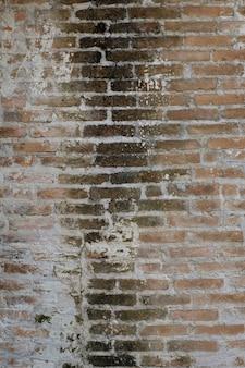 Trama di muro di mattoni