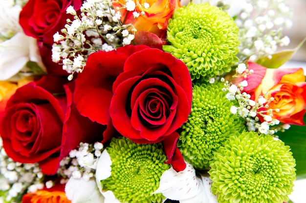 Bouquet da sposa da vicino
