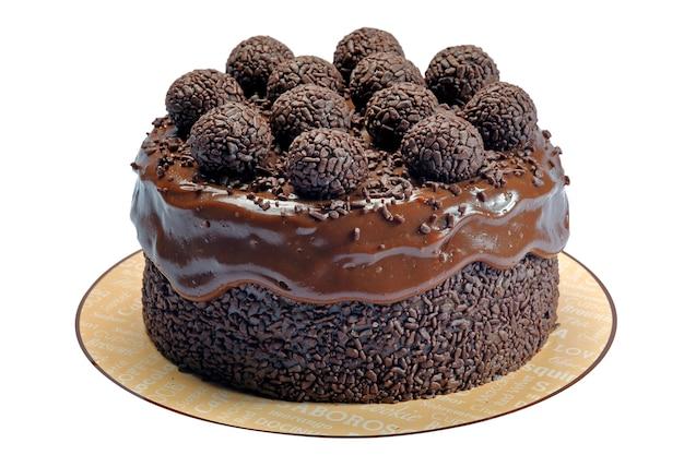 Torta brigadeiro - cioccolato granulato