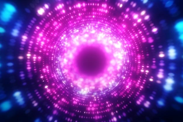 Sfondo luminoso movimento ondulato astratto