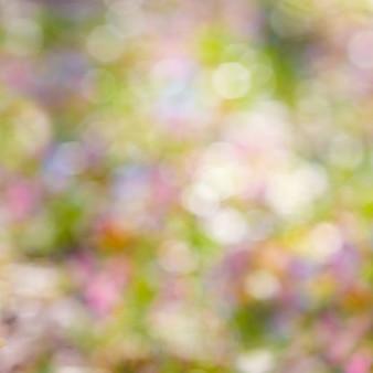 Brillante sfondo colorato bokeh bagliore