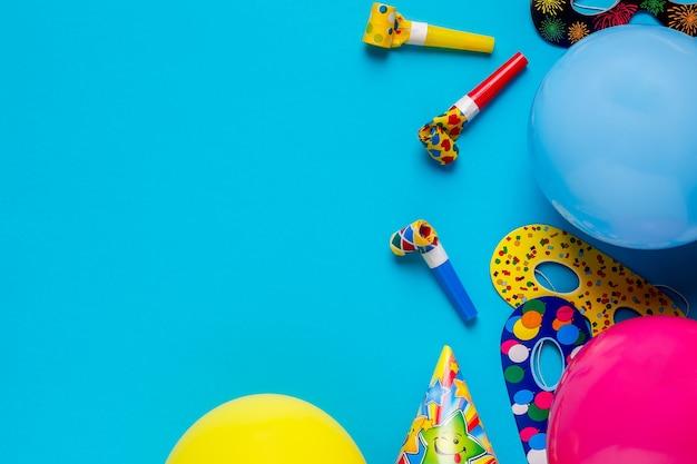 Decorazioni luminose per una festa di compleanno o un carnevale