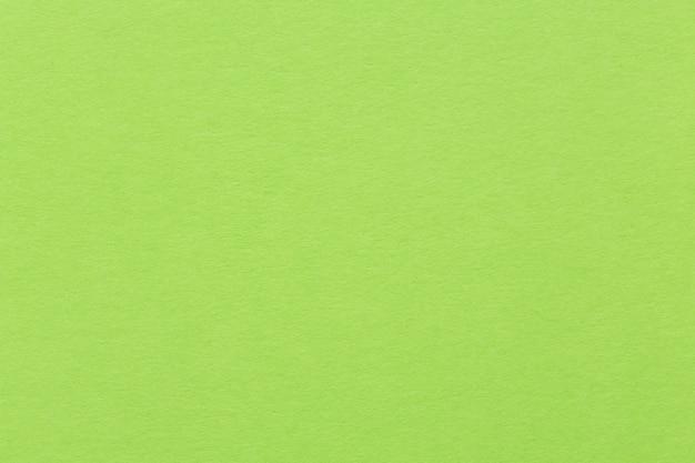 Sfondo di carta o cartone verde brillante. immagine di alta qualità.