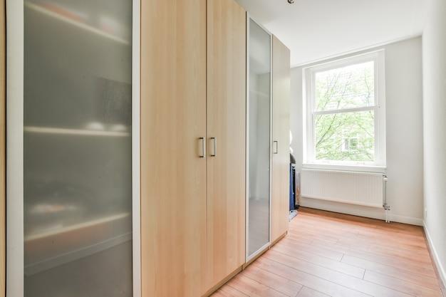 Interior design luminoso di una casa di lusso