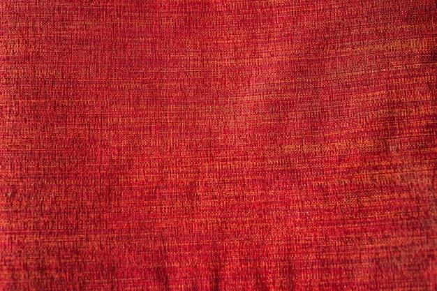 Sfondo di tela rosso brillante.