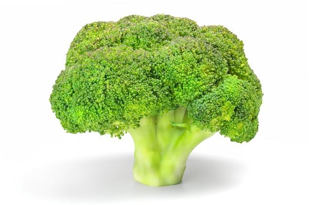 Verdura del broccolo isolata