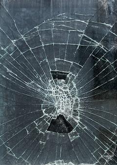 Sfondo di vetro rotto