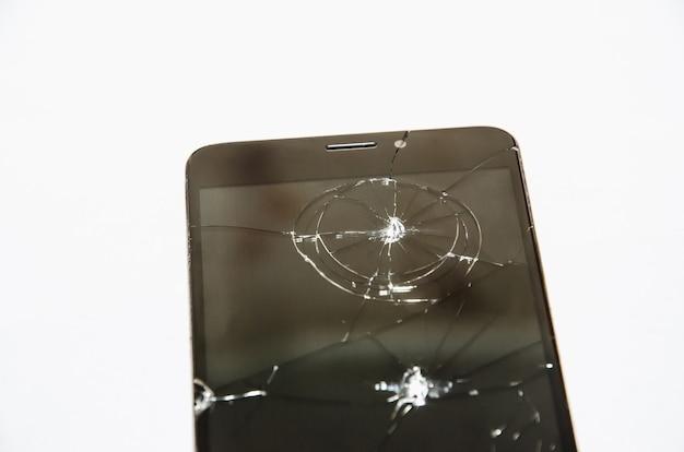 Vetro rotto su sfondo nero, disegno di sfondo texture