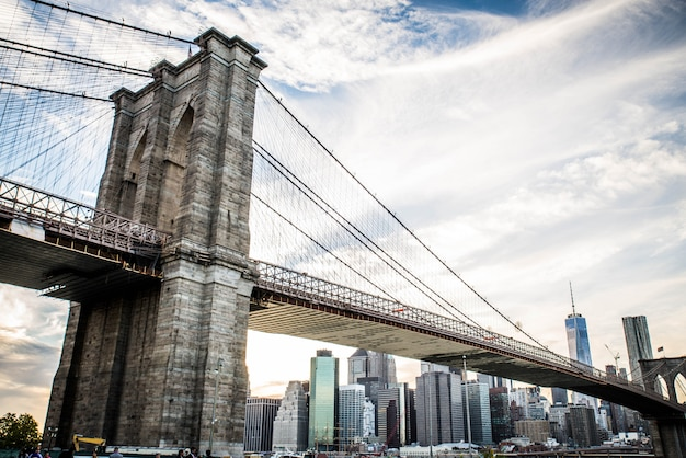 Ponte di brooklyn, new york