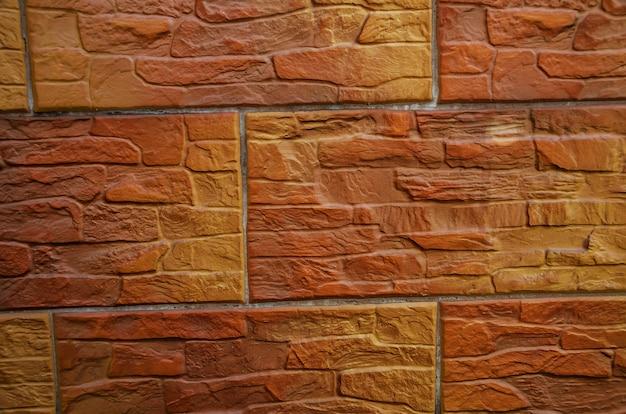 Muro di mattoni marroni come sfondo