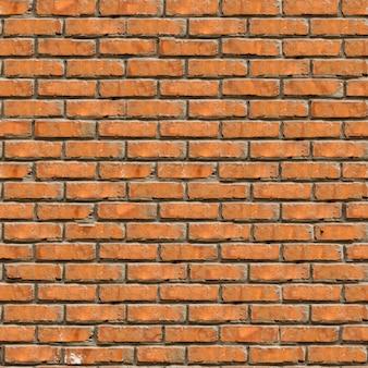 Struttura del muro di mattoni marrone. struttura piastrellabile senza giunte del grunge