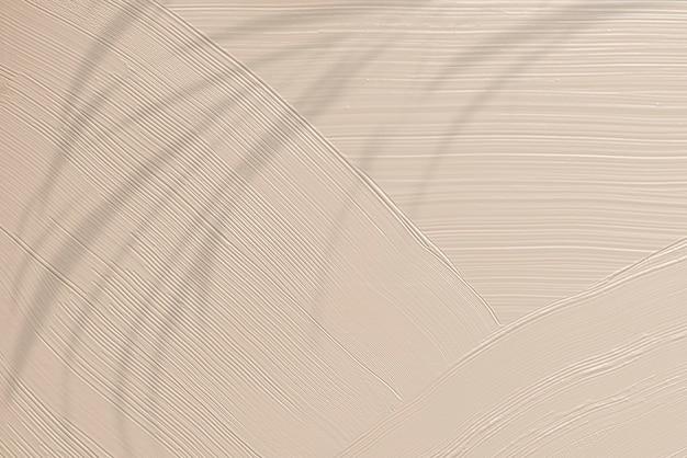 Fondo strutturato del tratto di pennello marrone