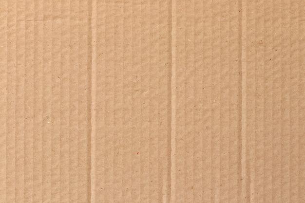 Foglio di cartone marrone, consistenza della scatola di carta riciclata.