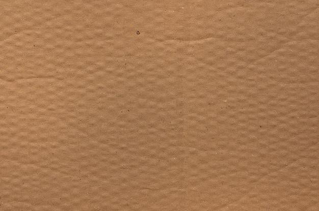 Struttura del mestiere di carta del cartone marrone