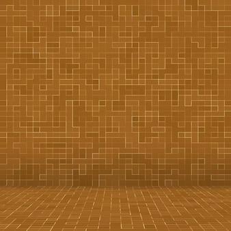 Sfondo di pietre in ceramica marrone