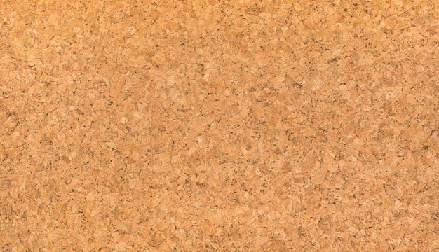 Struttura della carta da parati del bordo del sughero di colore marrone