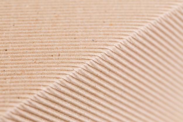 Texture di carta ondulata marrone
