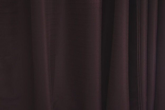 Trama di tenda marrone con linee verticali.