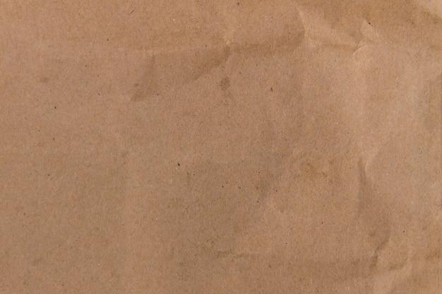Sfondo di carta marrone eco. texture di carta riciclata