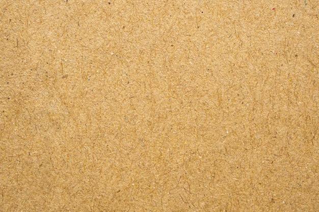 Cartone di struttura del foglio di carta kraft riciclata eco marrone