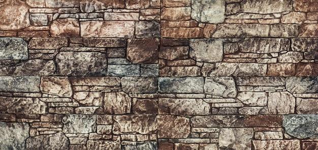 Piastrella con motivo a mosaico astratto geometrico marrone per la cucina