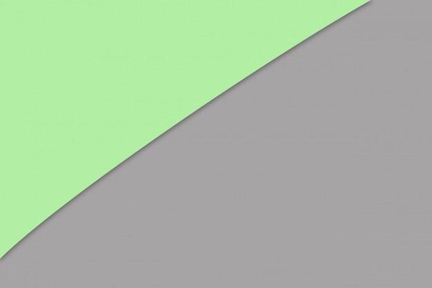 Colore di carta pastello marrone e verde per il fondo di struttura