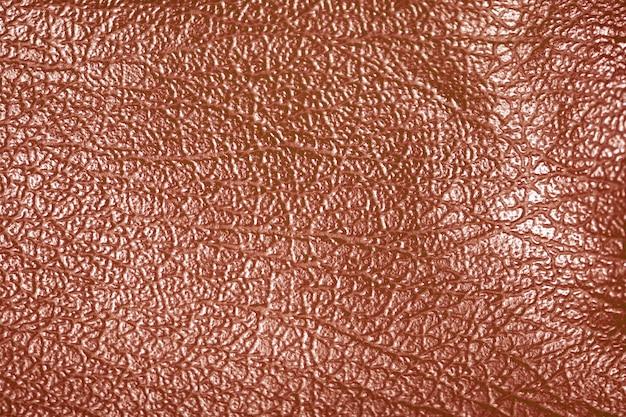 Trama di sfondo in pelle marrone