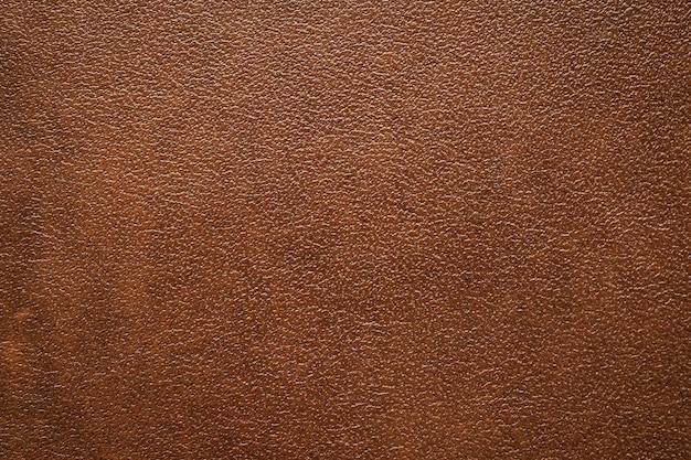 Fine di fondo di struttura di cuoio marrone su