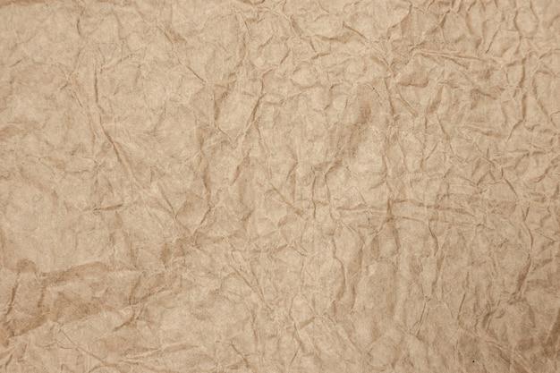 Vecchia carta marrone sfondo ruvido e stropicciato