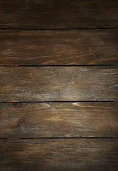 Priorità bassa del primo piano di struttura di legno vecchio marrone