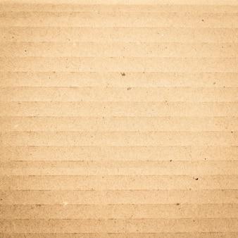 Scatola di carta marrone o struttura del foglio di cartone ondulato