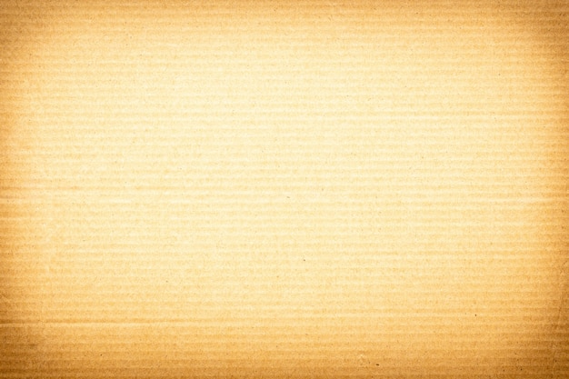 Fondo di struttura di carta marrone o superficie di cartone da una scatola di carta per l'imballaggio.