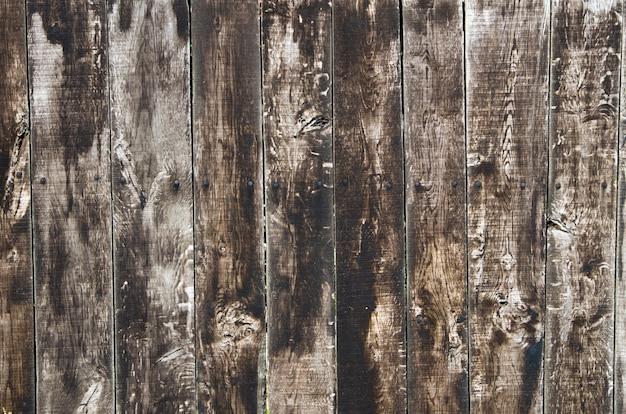 Fondo in legno marrone con motivi naturali