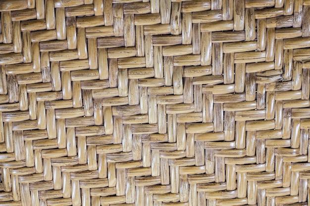Modelli di struttura in rattan intrecciato marrone