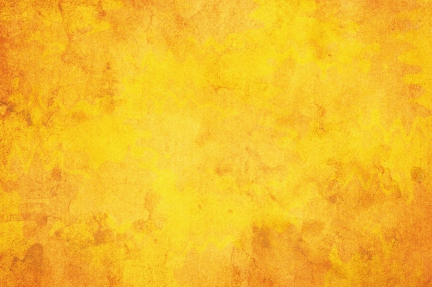 Fondo di lerciume di carta giallo marrone.