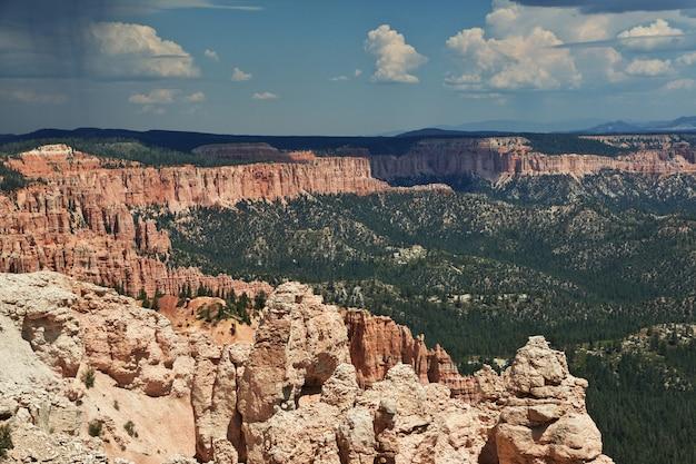 Bryce canyon nello utah, stati uniti d'america