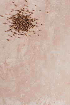 Le semole di grano saraceno si chiudono