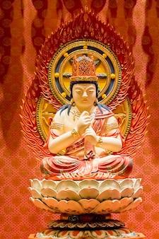 Tempio della reliquia del dente di buddha a singapore