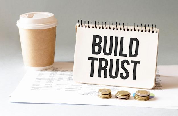 Build trust accedi al blocco note