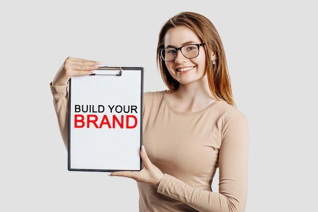 Costruisci il tuo marchio